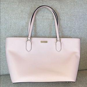 NWOT Kate Spade Blush Pink Leather Tote Bag